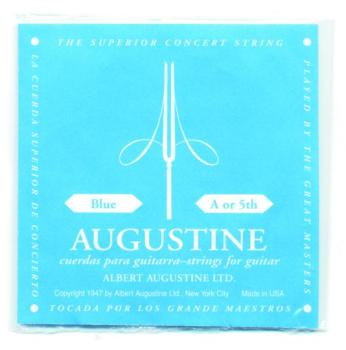 Augustine Blue Label Wound Single A String (AU-A85)