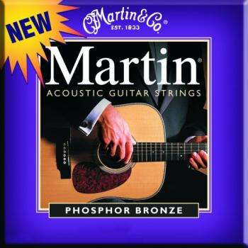 Martin 92/8 PB Acoustic Guitar Strings, Custom Lt. (MA-M535)