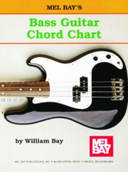 Mel Bay Bass Guitar Chord Chart (MB-MP3297)