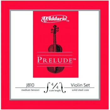 Prelude Medium Tension Violin String Set, 4/4 (PD-J81044M)