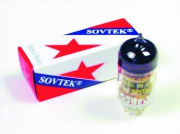Sovtek T12AX7WA Low Noise Pre-Amp Tube (SV-T12AX7A)