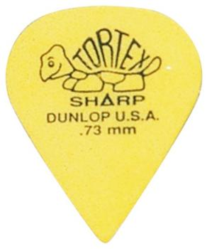 Dunlop Tortex Sharp Picks, Packs of 72 (DU-MTR-412R)