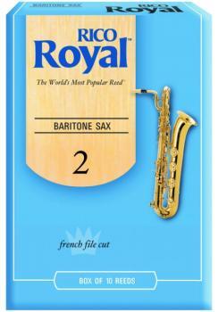 Rico Royal Bari Sax Reeds, 10 Per Box (RR-MTR-707R)