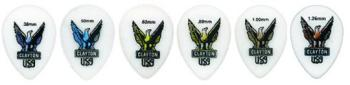 Clayton Teardrop Style Guitar Picks, 12 ct. Packs (CL-MTR-C4123)