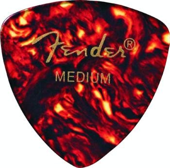 Fender 346 Shape Classic Celluloid Pickpack, Shell (12 ct.) (FE-MTR-R346S)