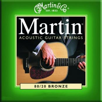 Martin Authentic 80/20 Bronze Acoustic Strings, Extra Light (MA170)