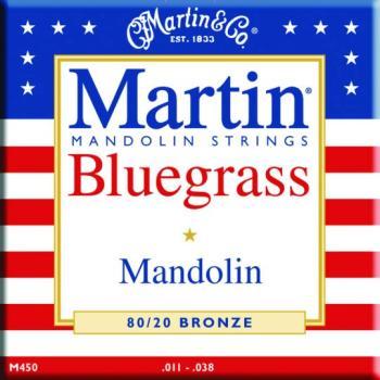 Martin 80/20 Bronze Bluegrass Mandolin Strings (MA-M450)