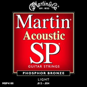 Martin Authentic SP Phosphor Bronze Acoustic Strings, Light (MA540)
