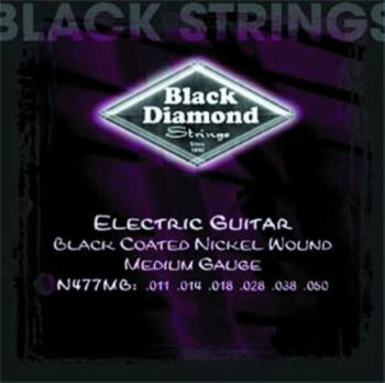 Black Diamond Coated, NW Electric Strings, Medium (BD-N477MB)