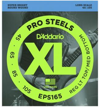 D'Addario XL ProSteels Bass Strings, RLTMB (DD-EPS165)