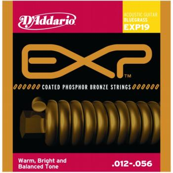 D'Addario EXP Coated Phos. Bronze, Bluegrass (DD-EXP19)