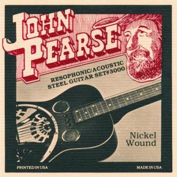 John Pearse Pure Nickel Wound Resophonic Strings (JP-JP3000)