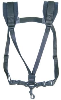 Neotech Classic Black Sax Strap, Soft Harness (NE-SHSBS)
