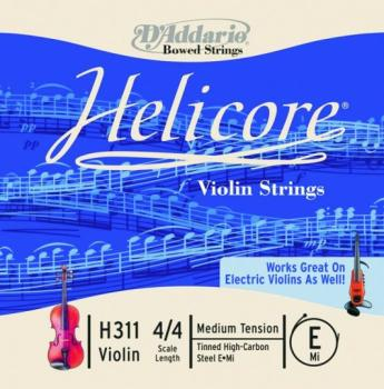 Helicore Single Violin String, 4/4 (HC-MTR-H31M)