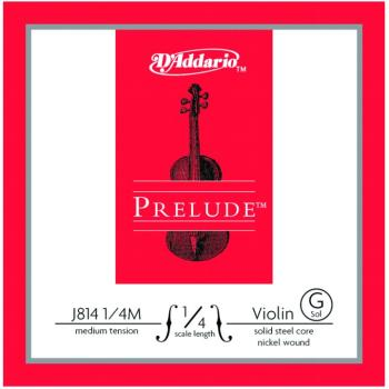 Prelude Medium Tension Single Violin String, 1/4 (PD-MTR-J8114M)