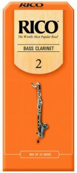 Rico Bass Clarinet Reeds, 25 Per Box (RI-MTR-R1427)