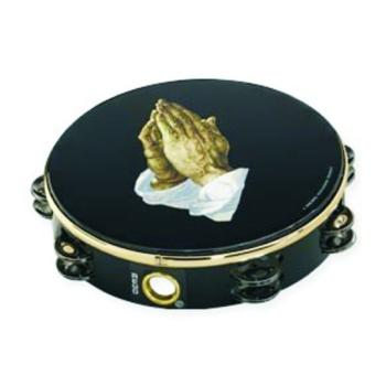 Remo® Praying Hands Double Row Tambourine (RM-MTR-TA92)