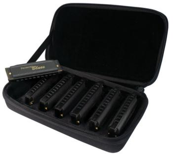 Hohner Case of Piedmont Blues Harmonica Set (HH-PBH7)