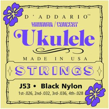 D'Addario Hawaiian/Concert Ukulele Strings (DD-J53)