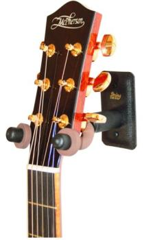 String Swing Metal Guitar/Mandolin Hanger, Wide BK (SW-CC11WBK)
