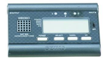 Seiko Auto/Manual Guitar Tuner (SE-SAT100B)