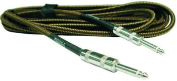 Hosa Cloth Woven Guitar Cable in Classic Tweed 18' (OO-GTR518TWD)