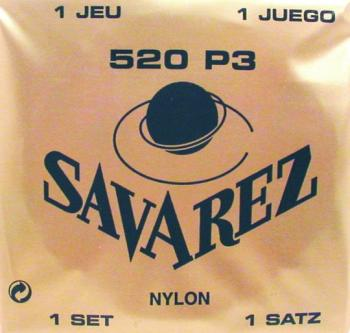 Savarez High Tension Classical Strings, Wound 3rd (S3-S520P3)