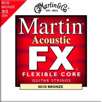 Martin FX 80/20 Bronze Acoustic Strings, Light (MA-MFX640)