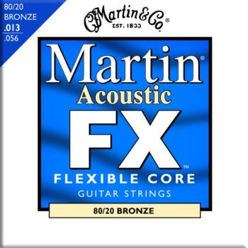 Martin FX 80/20 Bronze Acoustic Strings, Medium (MA-MFX650)