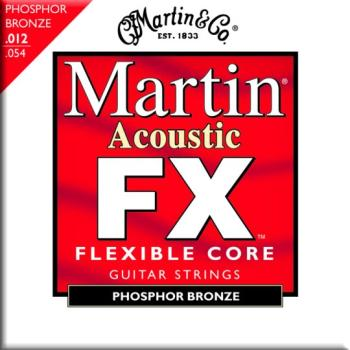 Martin FX 92/8 Phosphor Bronze Strings, Light (MFX740)