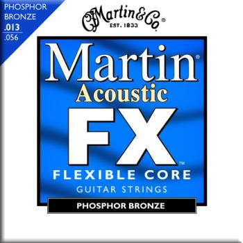 Martin FX 92/8 Phosphor Bronze Strings, Medium (MA-MFX750)