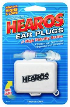 Hearos Hi-Fi Series Earplugs, 1 Pair (EA-HR211)