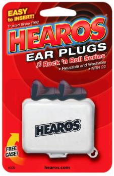 Hearos Rock n' Roll Series Earplugs, 1 Pair (EA-HR309)