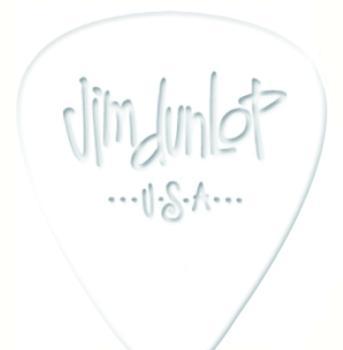 Dunlop White Celluloid Pick Pack  (12) (DU-MTR-483P01)