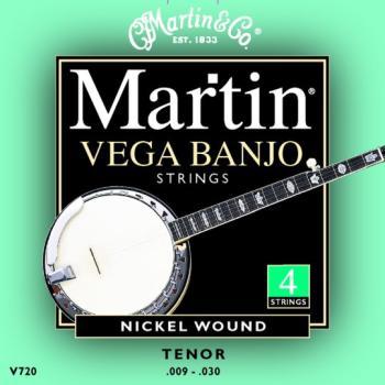 Martin Vega Banjo String Set, 4 String, Tenor (MA-V720)