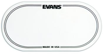 Evans Double Pedal Kick Pad EQ Patch , Clear (EV-EQPC2)