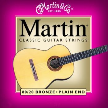 Martin Bronze Wound Classical Strings, Plain End (MA-M220)