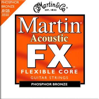Martin FX 92/8 Phosphor Bronze Strings, Medium (MA-MFX745)