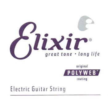Elixir Polyweb Coated Single Electric String, .052 (LI-13252)