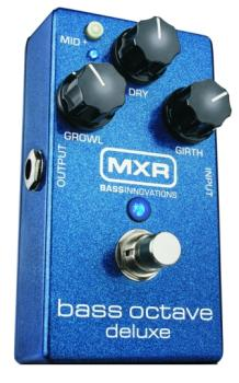 MXR Bass Octave Deluxe Effects Pedal (MX-M288)