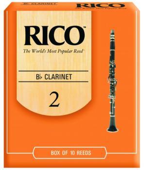 Rico Bb Clarinet Reeds, 10 Per Box (RI-MTR-1266R)