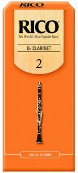 Rico Bb Clarinet Reeds, 25 per Box (RI-MTR-1276R)
