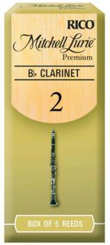 Mitchell Lurie Premium Cut Clarinet Reeds, 5 Per Box (ML-MTR-1285ML)