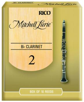 Mitchell Lurie Original Cut Clarinet Reeds, 10 Per Box (ML-MTR-1286ML)
