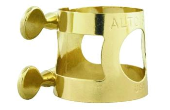 Yamaha Eb Alto Sax Ligature, Brass (YA-YAC1607)