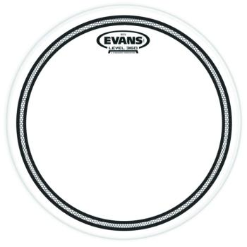 Evans EC2 with Sound Shaping Technology Clear Drumhead (EV-MTR-TTEC2S)